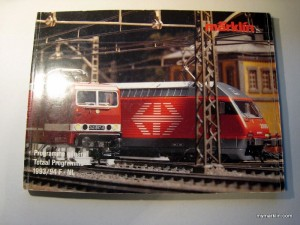 Catalogo Marklin 1993-94
